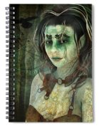 Mistress Of The Dark Woods Spiral Notebook