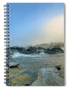 Mists Of Great Falls Spiral Notebook