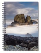 Mists Of The Sea Spiral Notebook