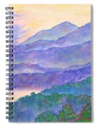 Misty Blue Ridge Spiral Notebook