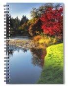 Misty Fall Spiral Notebook