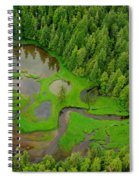 Misty Fjord Spiral Notebook