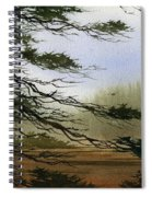 Misty Forest Bay Spiral Notebook