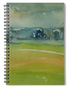 Misty Morning, 1981 Wc On Paper Spiral Notebook