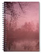 Misty Morning Light Spiral Notebook