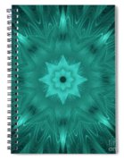 Misty Morning Star Bloom Spiral Notebook