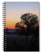 Misty November Morn Spiral Notebook