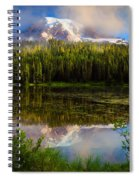 Misty Reflection Spiral Notebook