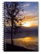 Misty Reflections Spiral Notebook