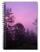 Misty Sunrise Spiral Notebook
