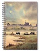 Misty Sunrise - Windsor Meadows Spiral Notebook