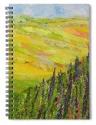 Misty Valley Spiral Notebook
