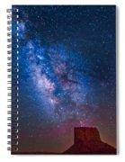 Mitchell Butte Milky Way Spiral Notebook