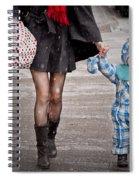 Mittens Attached Spiral Notebook