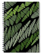 Mixed Assembly-green Spiral Notebook