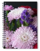 Mixed Bouquet Spiral Notebook