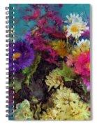 Mixed Bouquet Spiral Notebook