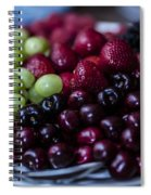 Mixed Fruit Spiral Notebook