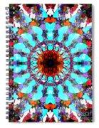 Mixed Media Mandala 1 Spiral Notebook