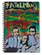 Mlk Fatherhood 1  Spiral Notebook