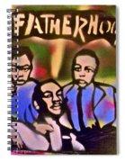 Mlk Fatherhood 2 Spiral Notebook