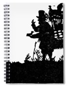 M�ller The Bird Seller Spiral Notebook