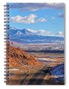 Moab Fault Medium Panorama Spiral Notebook