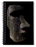 Moai Spiral Notebook