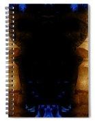 Moai Gold Spiral Notebook