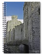 Moat And Bridge Spiral Notebook