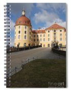 Moated Castle Moritzburg Spiral Notebook