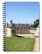 Moated Palace - Bussy-rabutin Spiral Notebook