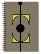 Mobile 1 In Green Spiral Notebook