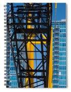 Mobile Crane Section Spiral Notebook