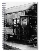 Mobile Home, 1922 Spiral Notebook