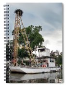 Mobile Osprey Nest Spiral Notebook