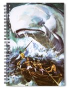 Moby Dick Spiral Notebook