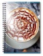 Mocha Lattee Bubbles  Spiral Notebook