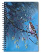 Mockingbird Happiness Spiral Notebook