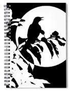 Mockingbird Moon Spiral Notebook