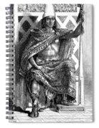 Moctezuma II, Ninth Tlatoani, Aztec Spiral Notebook