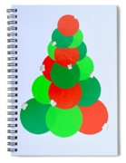 Mod Christmas Tree Spiral Notebook