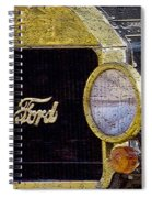 Model A Ford Spiral Notebook