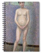 Model From The Front Spiral Notebook