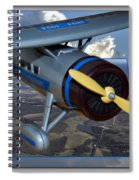 Model Planes Top Wing 04 Spiral Notebook