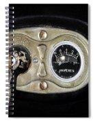 Model T Control Panel Spiral Notebook