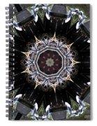 Model T Kaleidoscope Spiral Notebook