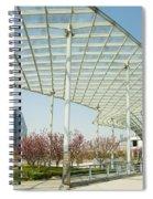Modern Architecture In Shanghai China Spiral Notebook