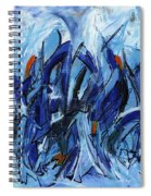 Modern Art Eleven Spiral Notebook