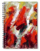 Modern Art Thirty-two Spiral Notebook